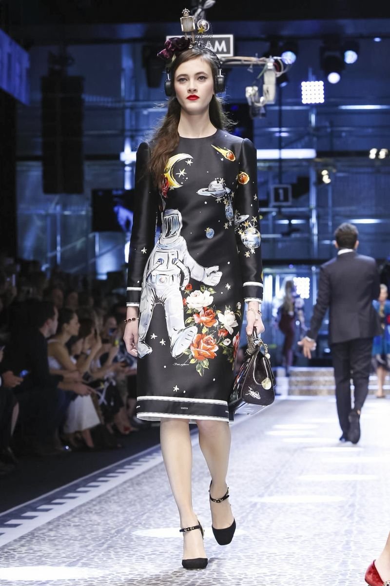 Greta Varlese for Dolce & Gabbana RTW FW17