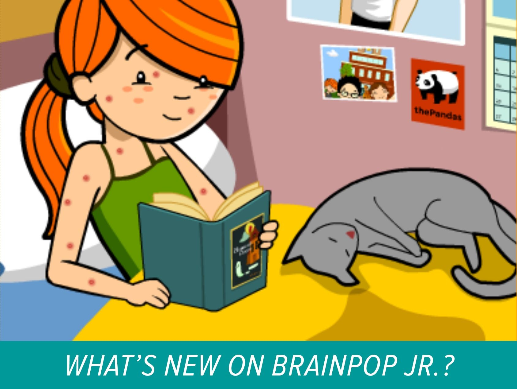New On Brainpop Jr Compound Words And Chickenpox