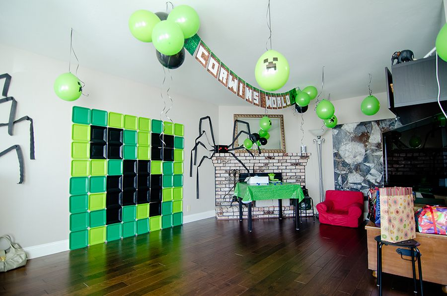 Minecraft Themed Kids Party Crafthubs