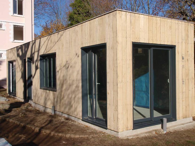 bois parement exterieur recherche google extension pinterest couverture zinc bardage et. Black Bedroom Furniture Sets. Home Design Ideas