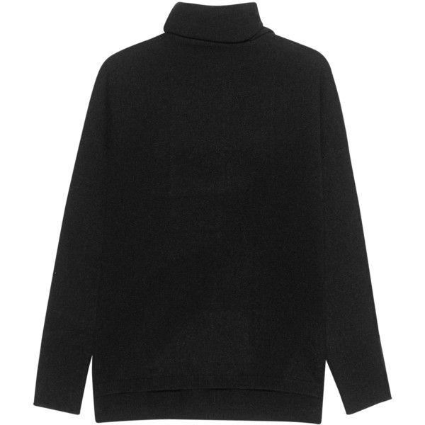 iHEART Dina Black // Fine knit turtle neck pullover (440 CAD ...