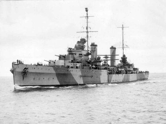 HMAS Sydney in 1941