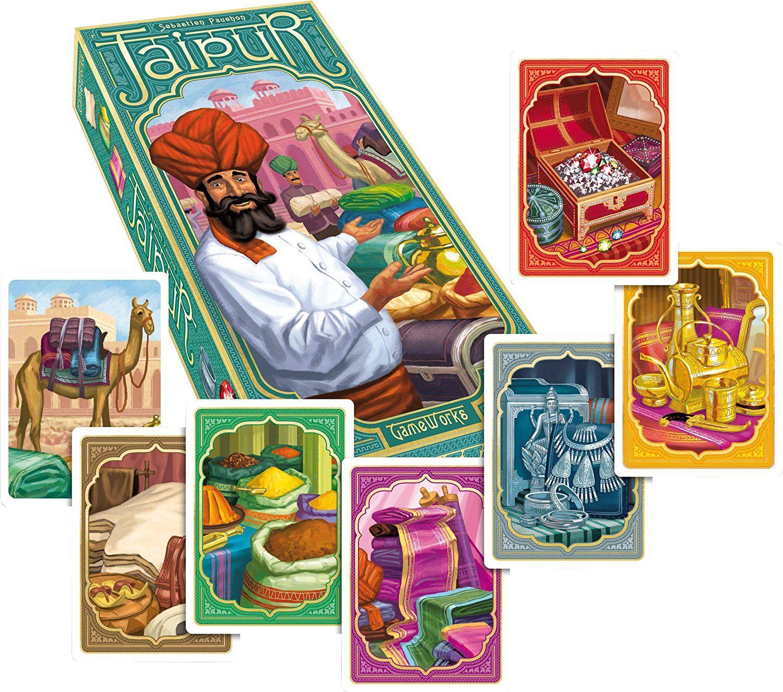 Gameworks Jaipur Card Game Amazon Spielzeug
