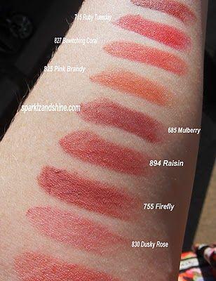 Max Factor Elixir Swatches Cosmetics Max Factor Lipstick Makeup