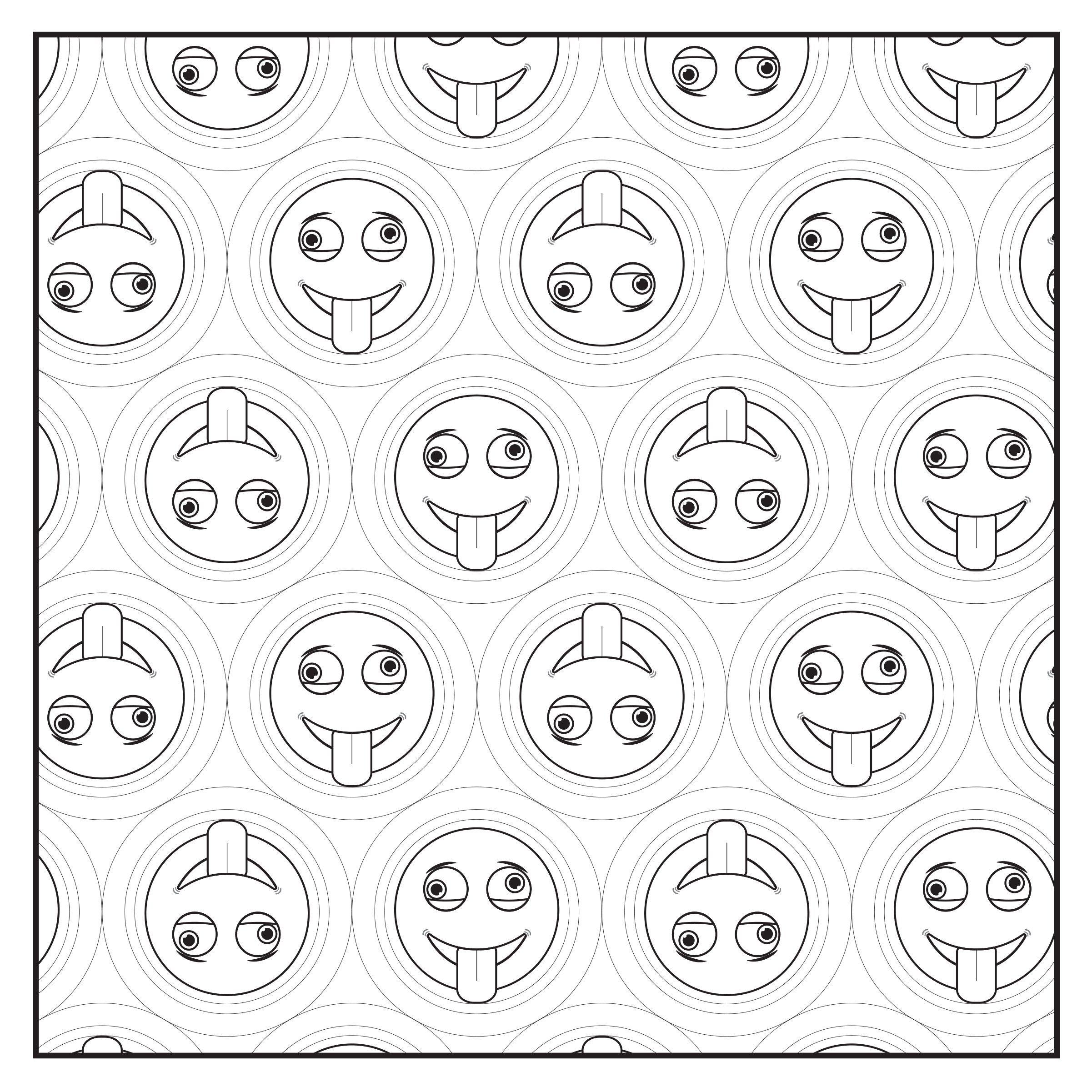 Amazon Emoji Crazy Fun Adult Coloring Book and Teens Coloring