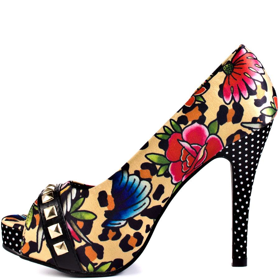 Just ordered these....Iron Fist Lounge Leopard Platform Heels from ...