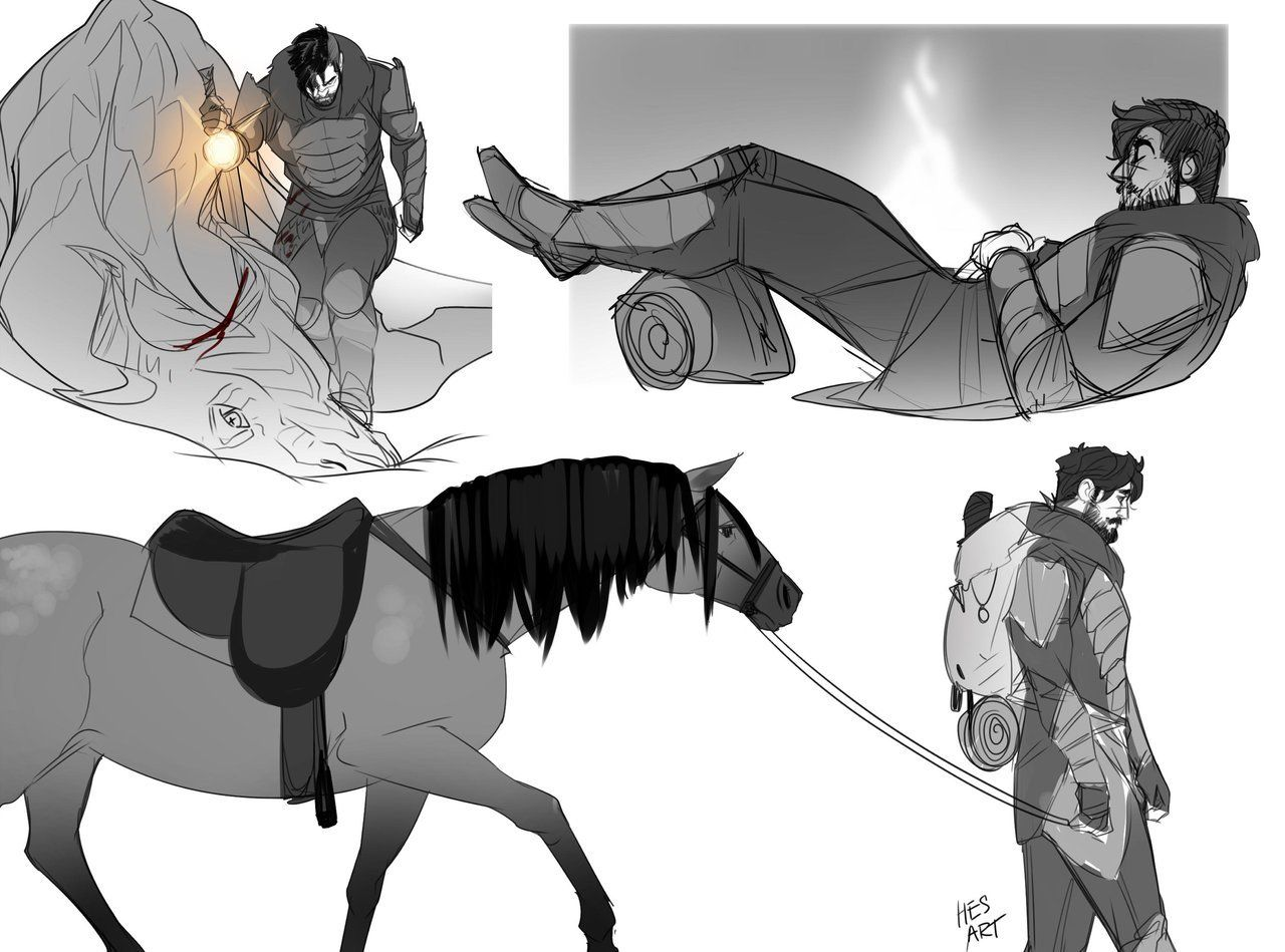 Never posted these here. small Taloses - #**Tal #art #SB #Skyrim #tag #trash