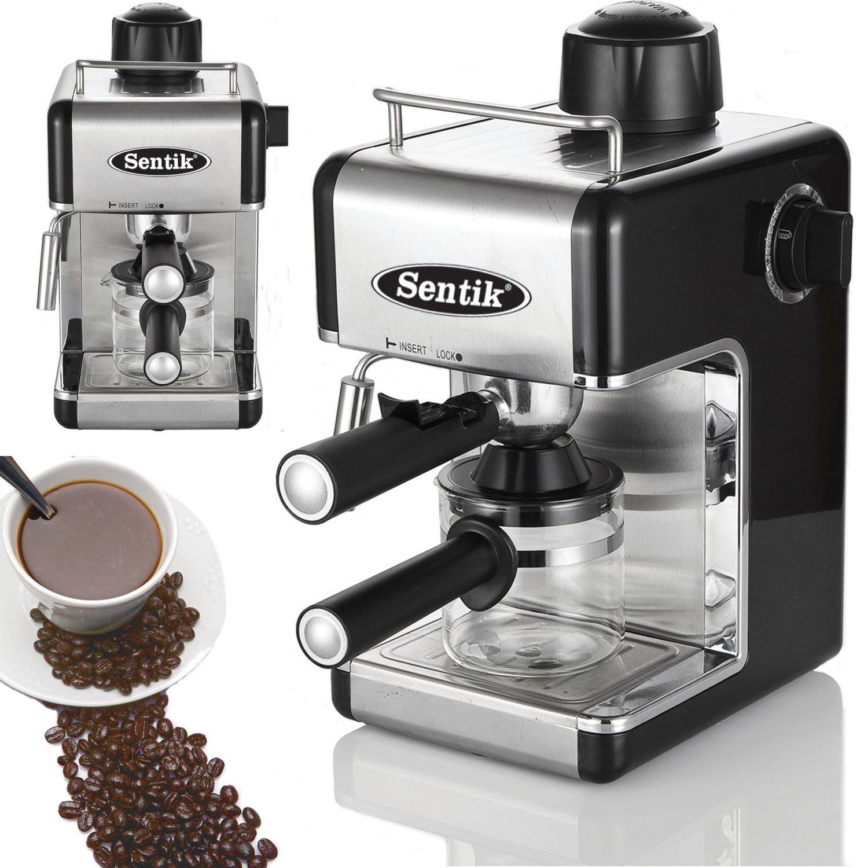 Sentik Professional Espresso Cuccino Coffee Maker Machine Home Office Black