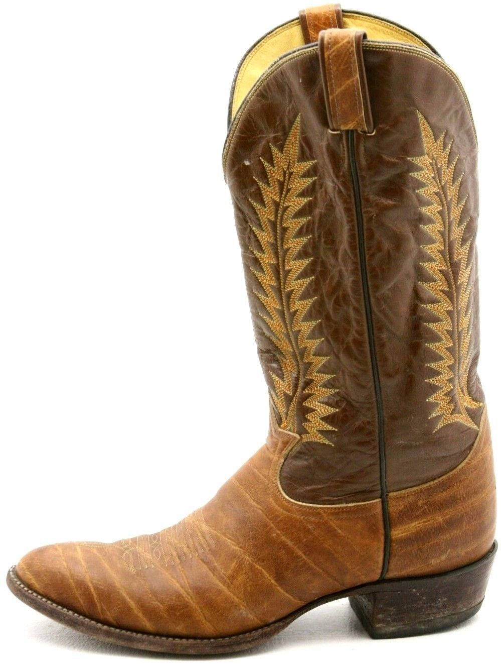 good selling incredible prices cheap prices Mens size 12 Tony Lama Cowboy Boots at www.shoehag.com ...