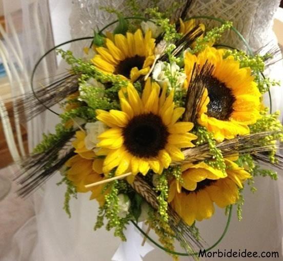 Girasole Matrimonio Significato : Bouquet di girasoli fiori pinterest