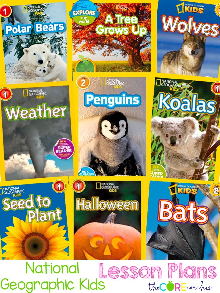 National Geographic Books for Kids activities