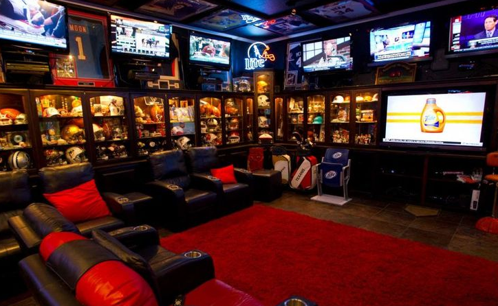 Man Cave Ideas Geek : The ultimate man cave tiffany fiore interiors wo
