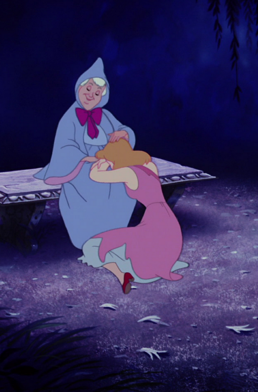 Disney Cinderella And Her Fairy Godmother There There Little