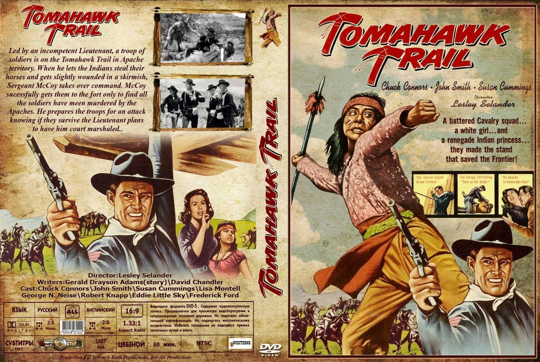 Tomahawk Trail Western 1957 Chuck Connors John Smith Susan Cummings Chuck Connors Western Movie B Movie