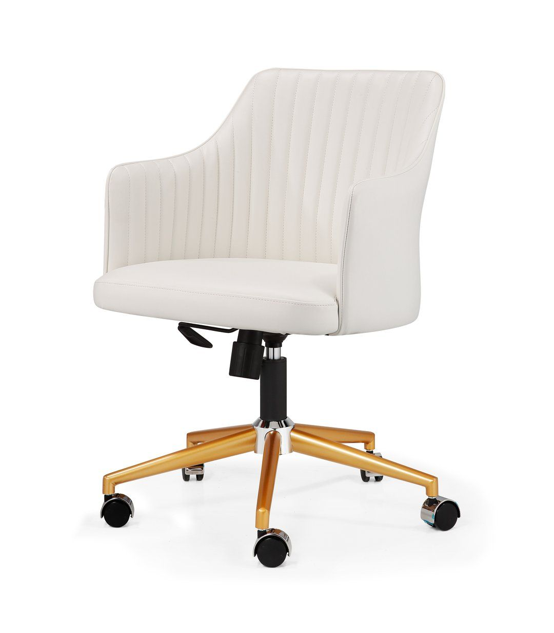The M64 Is Not Your Standard Office Chair Its Curvaceous Seat And Ribbed Back Adds A Modern Touch To Conference Rooms And Task Chair Modern Office Chair Chair