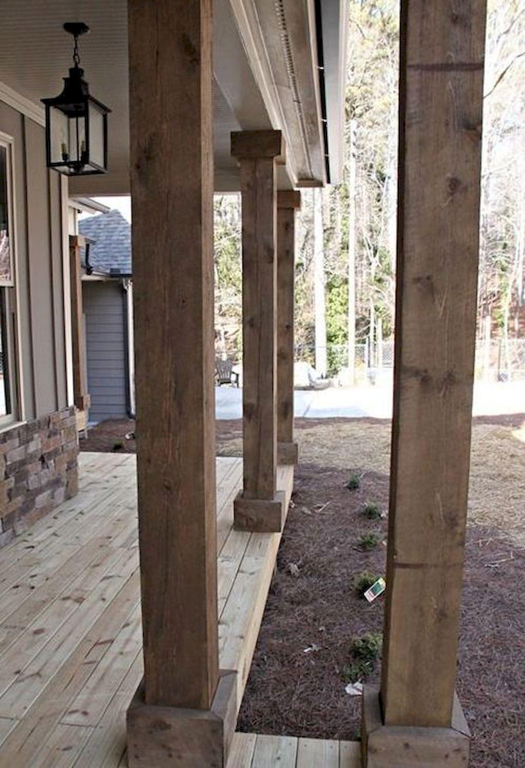 07 beautiful farmhouse front porch decorating ideas
