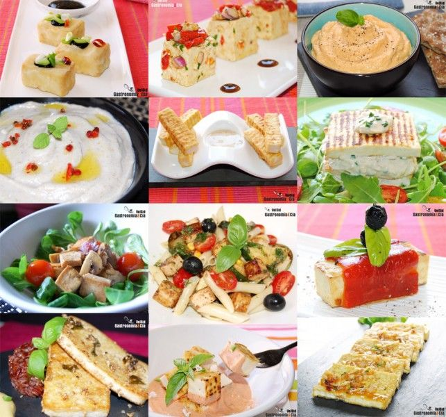 Doce Recetas Con Tofu Tofu Vegan Recipes Food