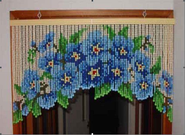 Cortinas decorativas mar ilusiones pinterest - Cortinas de abalorios ...