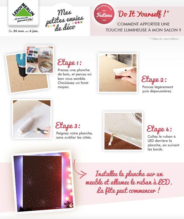 Diy Apporter Une Touche Lumineuse A Son Salon Envie De Decorer