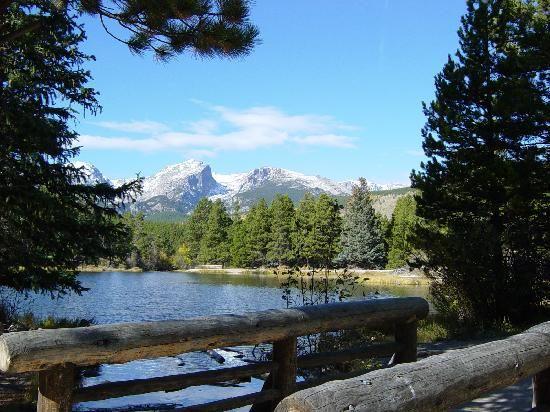 Estes Park, Colorado. I miss living in Colorado. We went to Estes park twice a year!