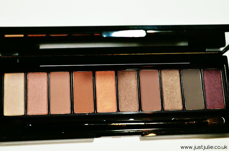 Review: LOreal Colour Riche La Palette Nude 1 and La