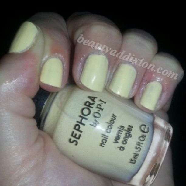 Sephora by OPI Why Yellow There great #spring #nailpolish ...