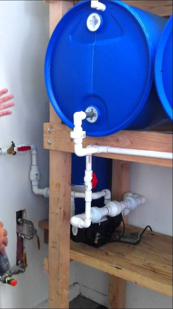 Best Water Barrel Storage Ideas 10 Articles And Images Curated On Pinterest