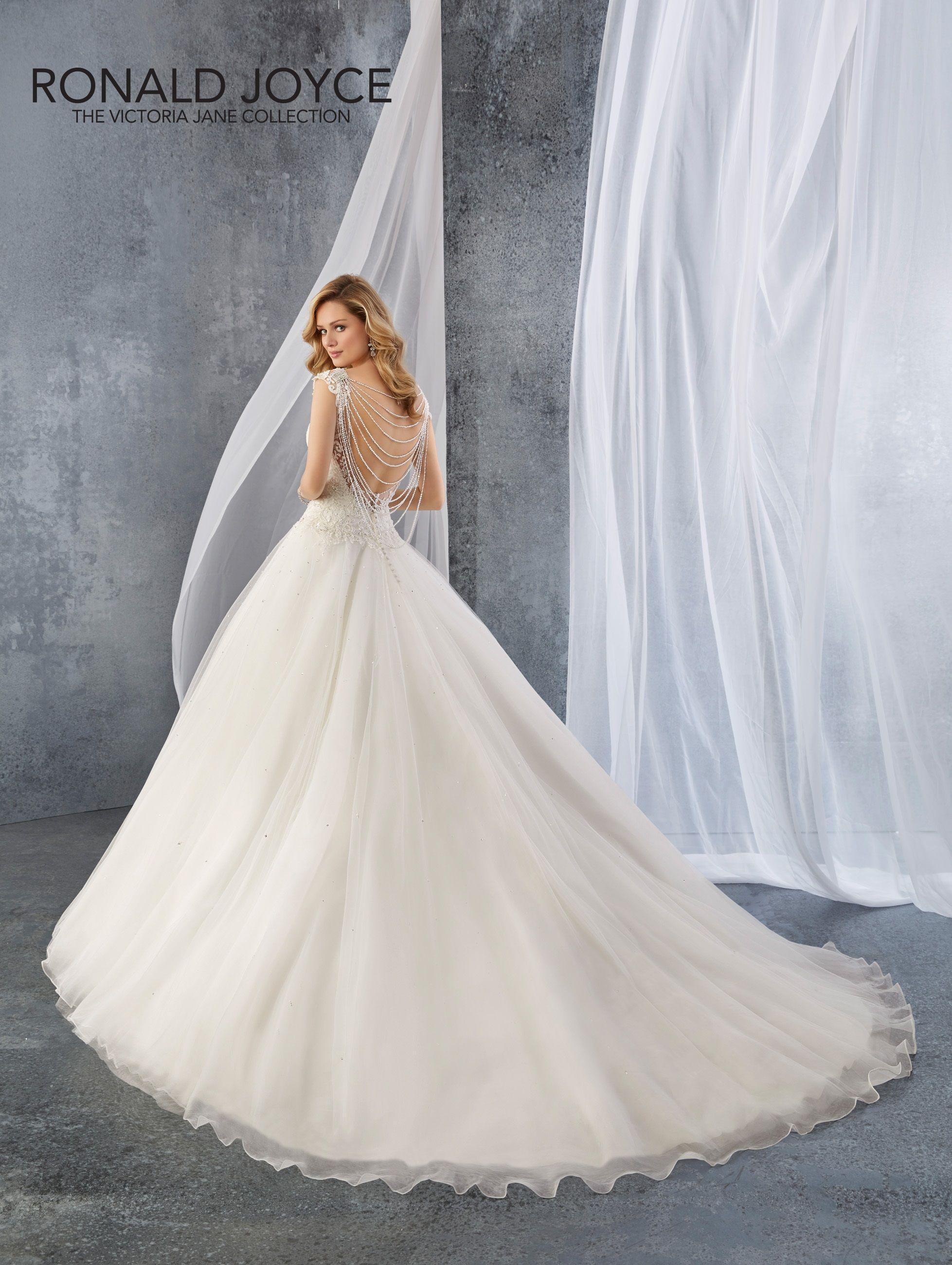 Jordan Wedding Dresses Ronald Joyce Wedding Dresses Elegant Bridal Gown [ 2600 x 1957 Pixel ]