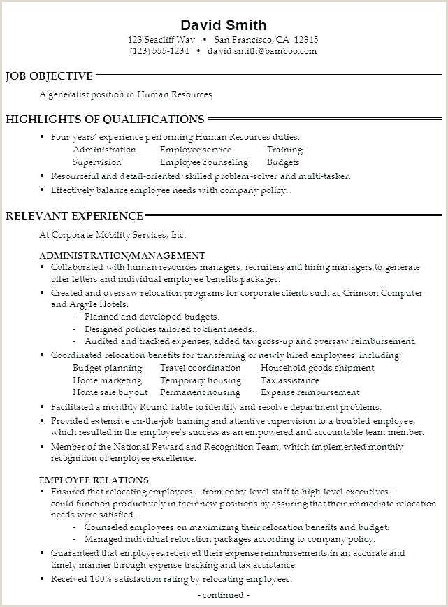 Entrylevel Hr Generalist Resume Sample in 2020 (With