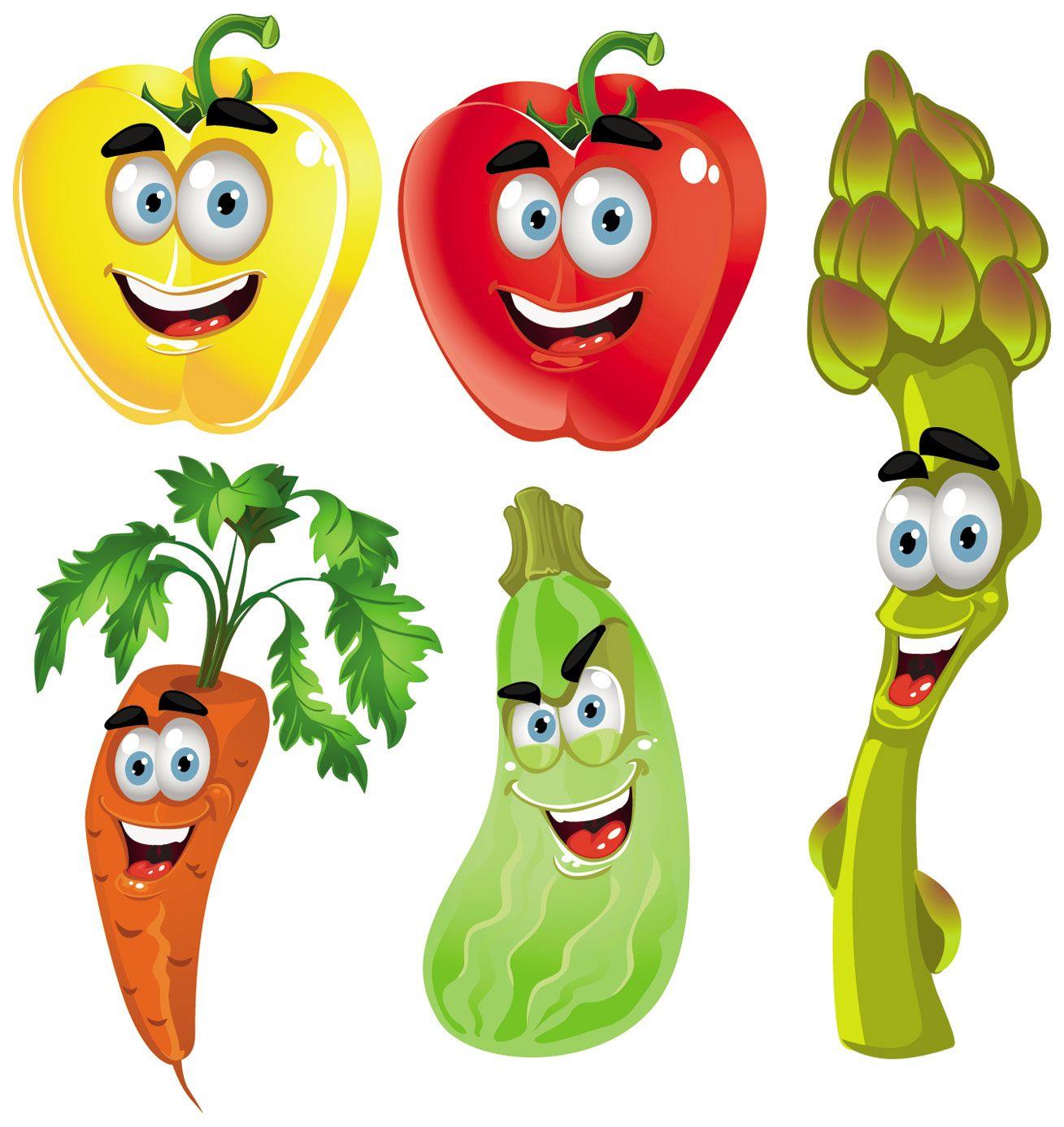 Fabulous Cartoon Fruit And Vegetable Images Vegetable Cartoon Image Interior Design Ideas Pimpapslepicentreinfo