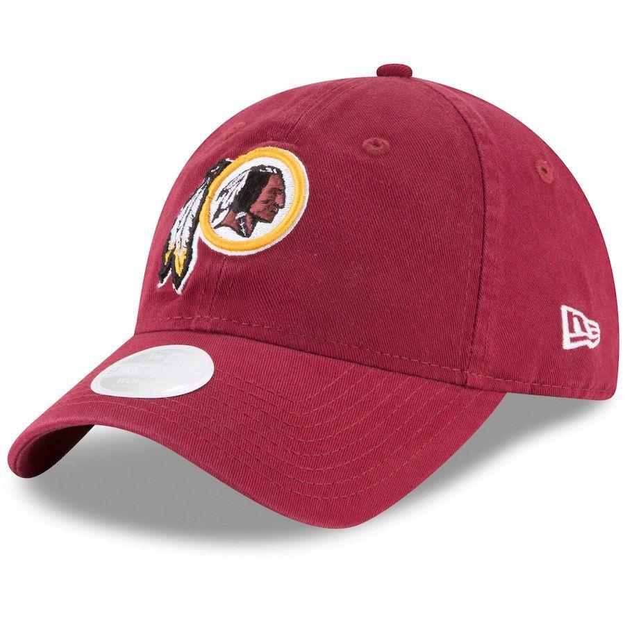 new arrival 89d18 7cc83 Women s Washington Redskins New Era Burgundy Core Classic Primary 9TWENTY  Adjustable Hat, Your Price   21.99