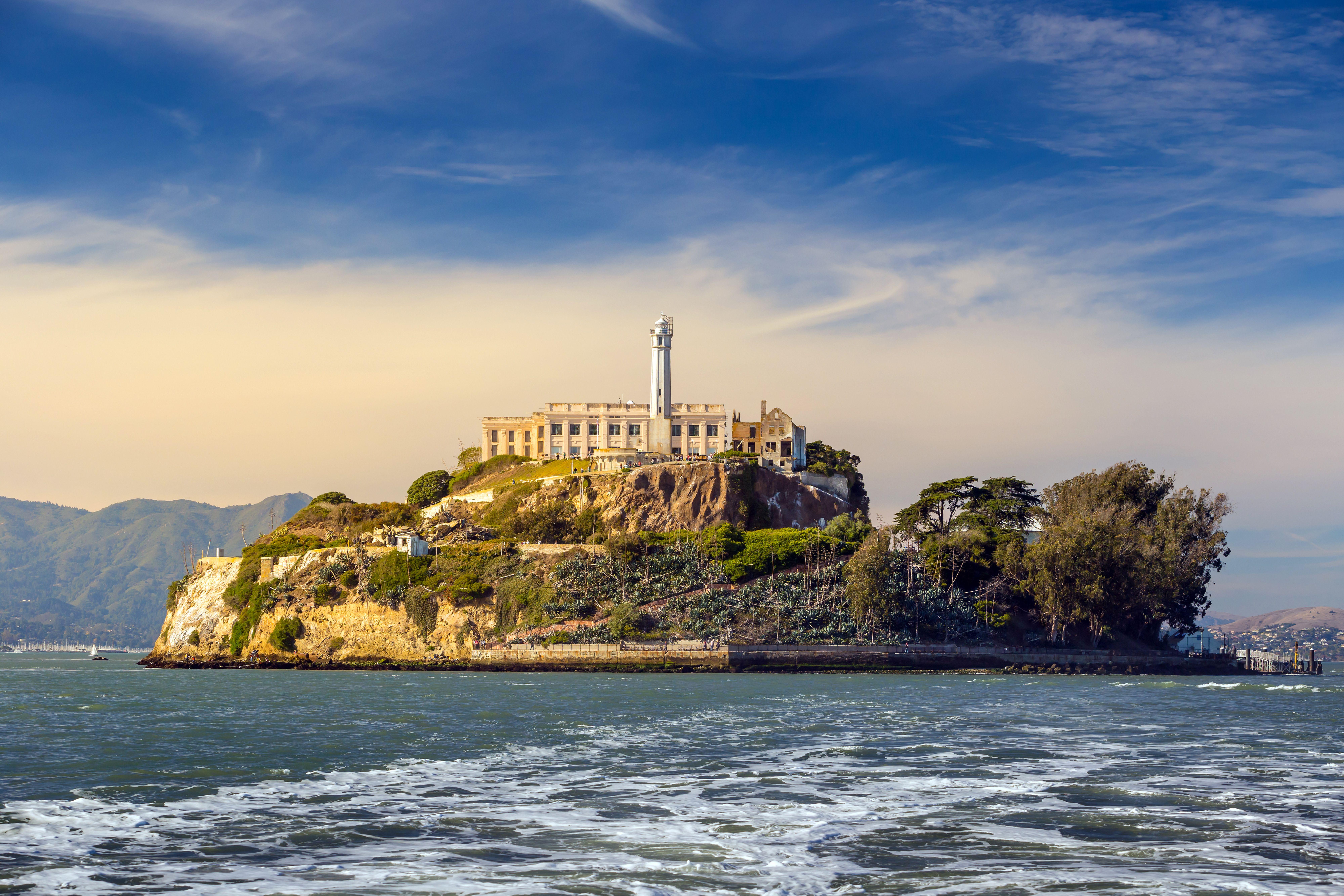 Alcatraz Island In San Francisco Usa Alcatraz Island Alcatraz