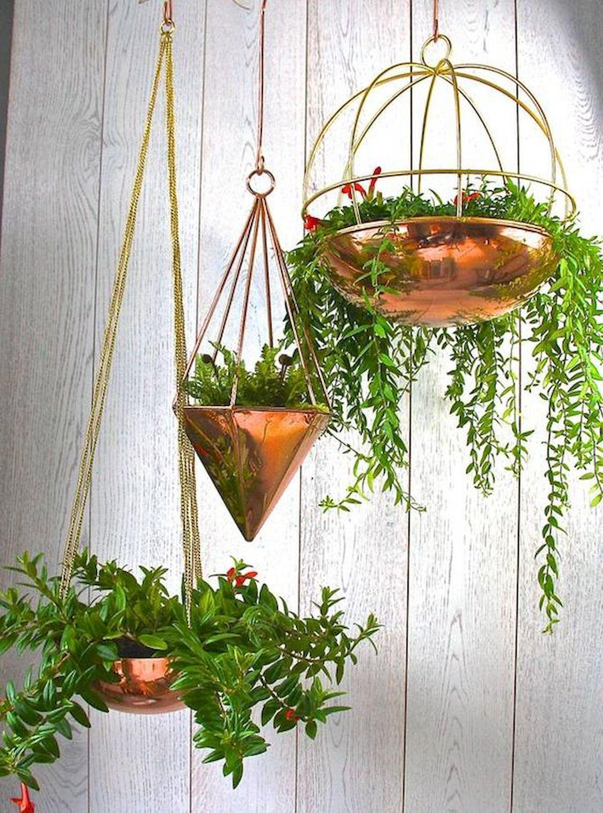 30 Cute Hanging Plants to Decorate Your Interior Home #hangingplantsindoor