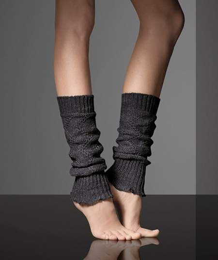 b14f742b4 Knee-high socks from MaxMara Fall 2010-2011 collection....but saw a DYI  that cuts off old sweater sleeves for same effect!!