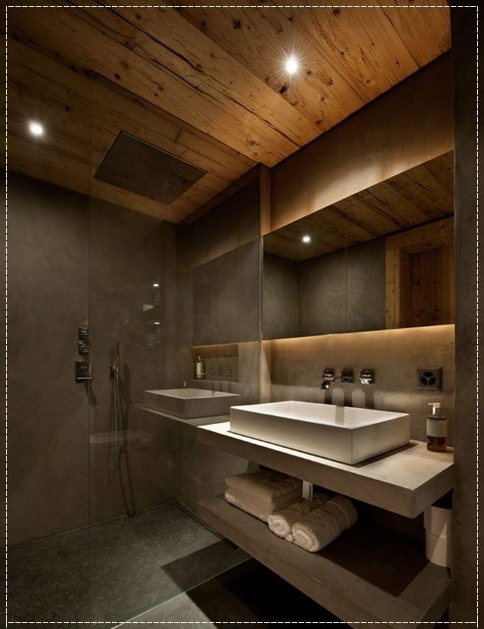Revestimentos banheiro masculino  [] n e w p r o j e c t []  Pinterest  Re -> Banheiro Pequeno Masculino