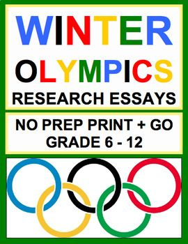 Winter Games Research Project
