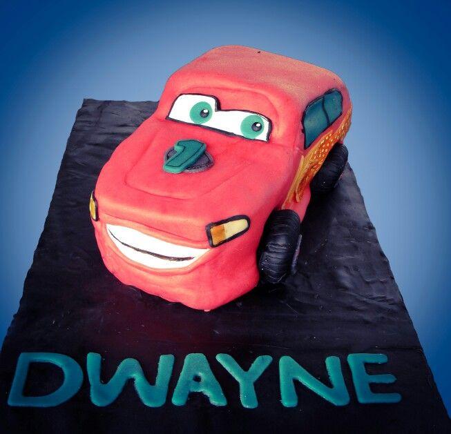 Taart Marsepein Cars Cake Marzipan Cars Taart Marsepein Cake