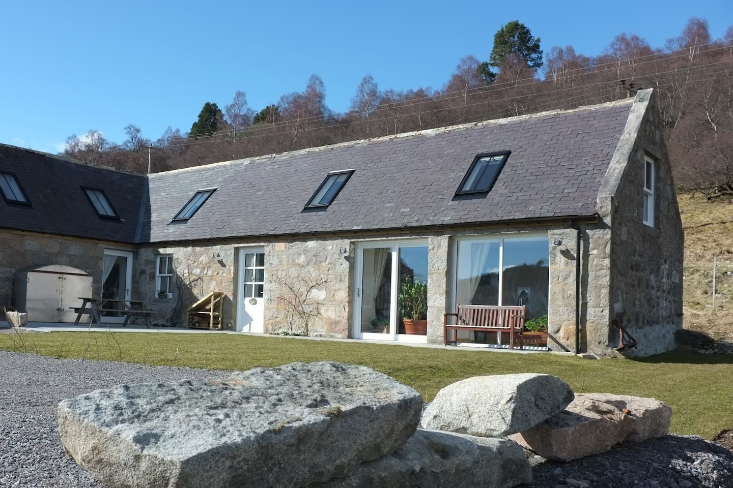 Your place on Royal Deeside Barns for Rent in Crathie