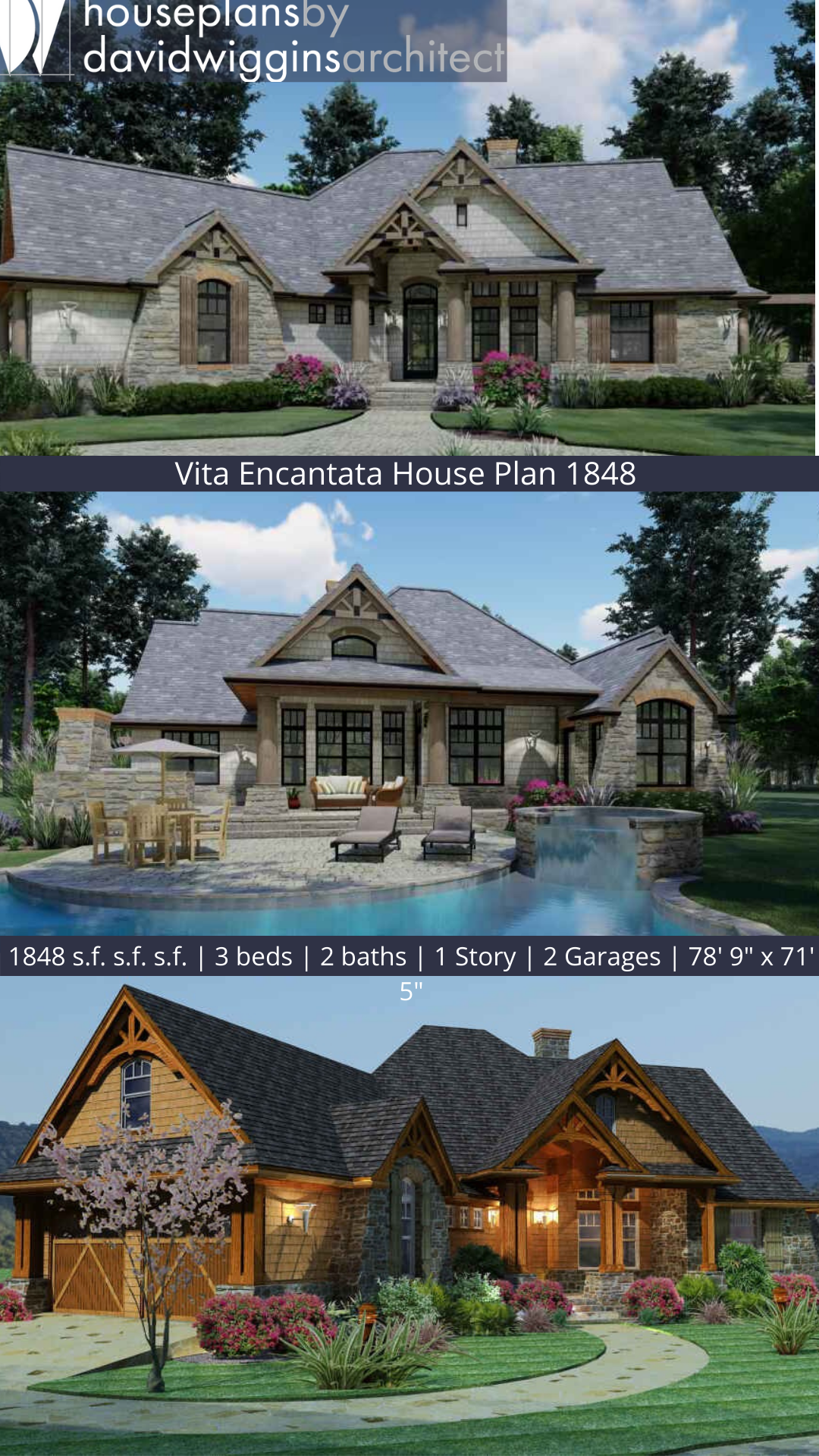 Vita Encantata House Plan 1848