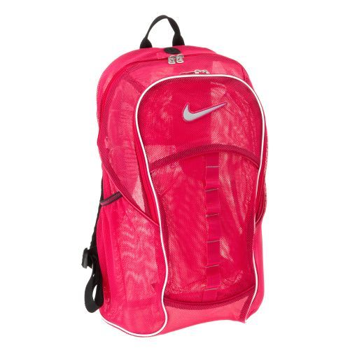 ceeb7032fb48 Dose Your School require a see through or mesh backpack  Get a mesh Nike bag  in pink