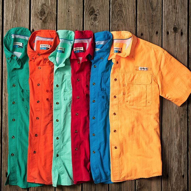 Magellan Fishing Shirts make for a great Father's Day gift
