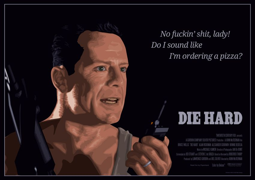 Die Hard Quotes Die Hard Quotes | Movie Quotes Posters Part 1 | Projects to Try  Die Hard Quotes