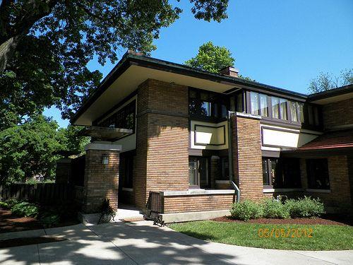 Beautiful Frank Lloyd Wright House Illinois