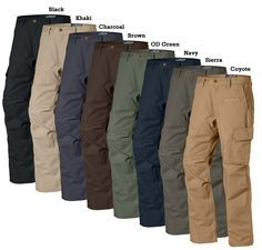 LA Police Gear Mens Urban Ops Tactical Pants