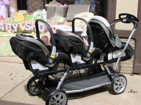 Peg Perego Triplet Stroller Triplet Babies Baby Gadgets