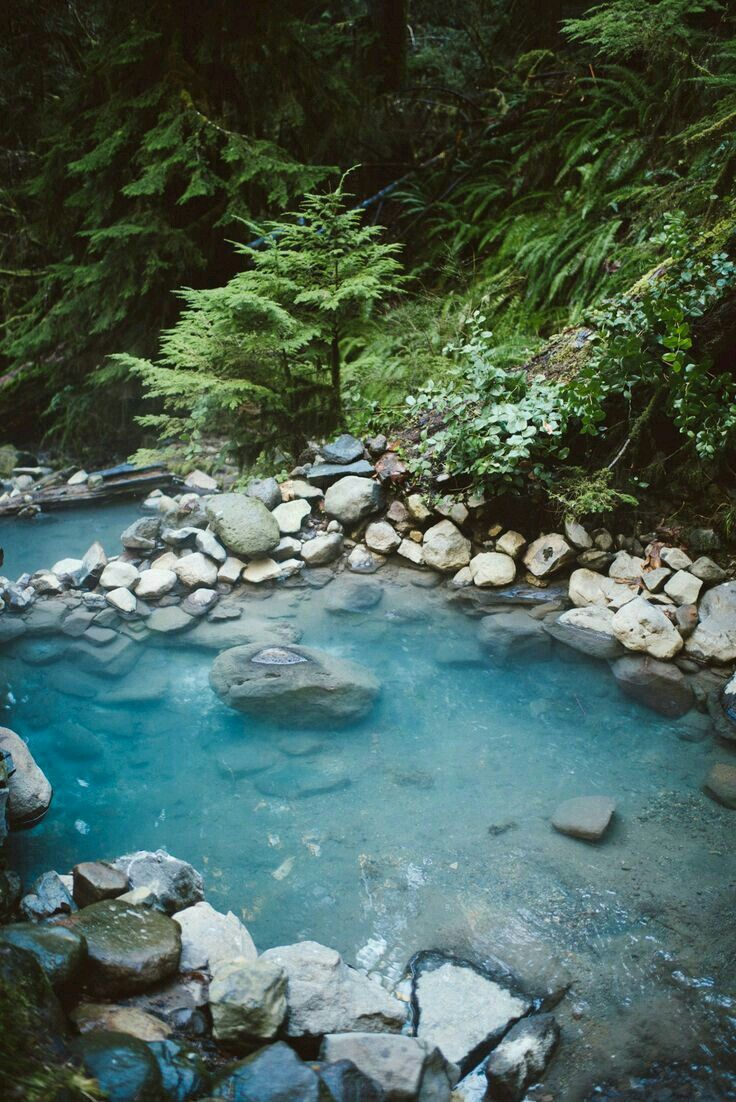 Cougar hot springs Oregon USA Cougar hot