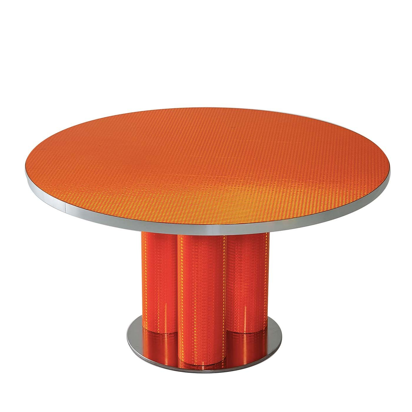 Reflective Collection Red Round Coffee Table Round Coffee Table Coffee Table Low Dining Table [ 1400 x 1400 Pixel ]