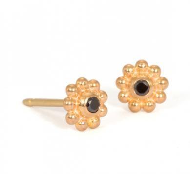 Daisy Stud Earrings Reinstein Ross Goldsmiths