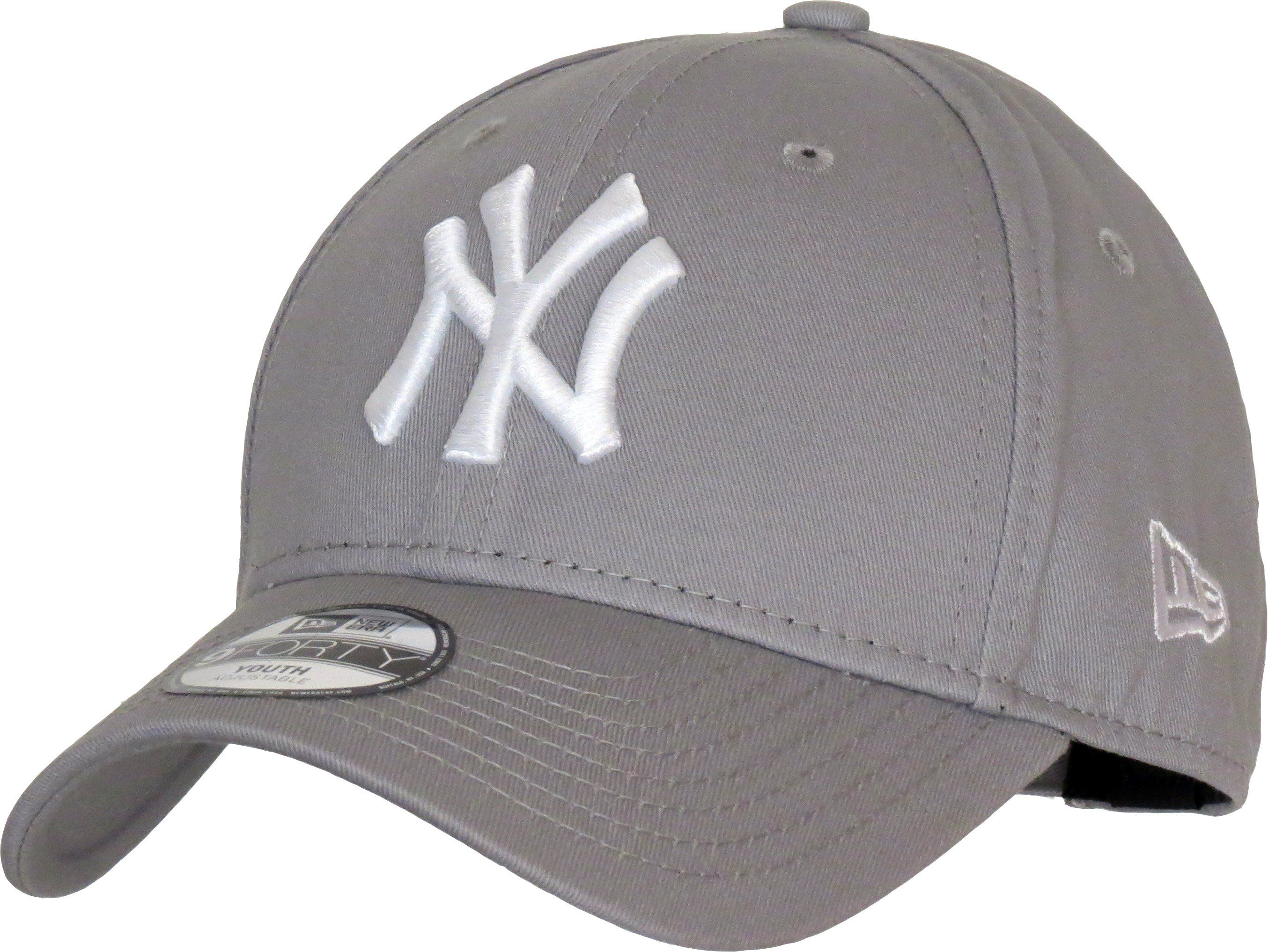 359b4e016dc19 NY Yankees New Era 940 Kids Grey Baseball Cap (Age 4 - 10 Years ...
