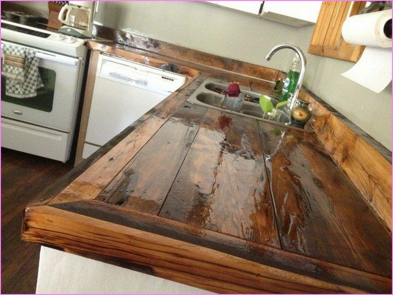 Diy Kitchen Countertop Ideas Part - 50: Diy Kitchen Countertops Ideas Home Things